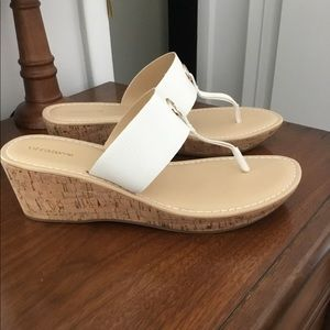 Liz Claiborne Wedge Sandals